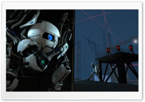 Portal 2 Game HD Wide Wallpaper for Widescreen