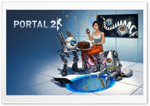 Portal 2 Potato HD Wide Wallpaper for Widescreen