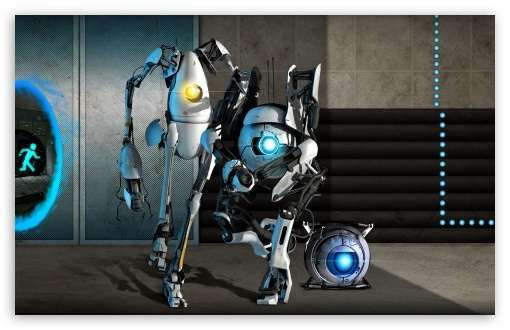 Portal 2 Team HD wallpaper for Wide 16:10 5:3 Widescreen WHXGA WQXGA WUXGA WXGA WGA ; HD 16:9 High Definition WQHD QWXGA 1080p 900p 720p QHD nHD ; Standard 4:3 5:4 3:2 Fullscreen UXGA XGA SVGA QSXGA SXGA DVGA HVGA HQVGA devices ( Apple PowerBook G4 iPhone 4 3G 3GS iPod Touch ) ; Tablet 1:1 ; iPad 1/2/Mini ; Mobile 4:3 5:3 3:2 16:9 5:4 - UXGA XGA SVGA WGA DVGA HVGA HQVGA devices ( Apple PowerBook G4 iPhone 4 3G 3GS iPod Touch ) WQHD QWXGA 1080p 900p 720p QHD nHD QSXGA SXGA ;