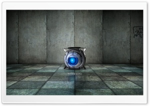 Portal 2 Wheatley HD Wide Wallpaper for Widescreen