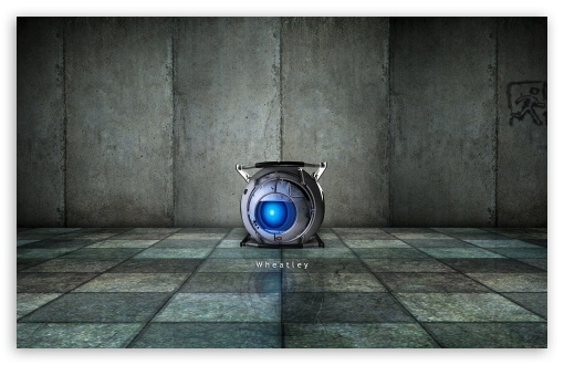 Portal 2 Wheatley HD wallpaper for Wide 16:10 5:3 Widescreen WHXGA WQXGA WUXGA WXGA WGA ; HD 16:9 High Definition WQHD QWXGA 1080p 900p 720p QHD nHD ; Standard 4:3 5:4 3:2 Fullscreen UXGA XGA SVGA QSXGA SXGA DVGA HVGA HQVGA devices ( Apple PowerBook G4 iPhone 4 3G 3GS iPod Touch ) ; Tablet 1:1 ; iPad 1/2/Mini ; Mobile 4:3 5:3 3:2 16:9 5:4 - UXGA XGA SVGA WGA DVGA HVGA HQVGA devices ( Apple PowerBook G4 iPhone 4 3G 3GS iPod Touch ) WQHD QWXGA 1080p 900p 720p QHD nHD QSXGA SXGA ;