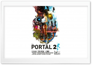 Portal 2 HD Wide Wallpaper for 4K UHD Widescreen desktop & smartphone
