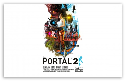 Portal 2 HD wallpaper for Wide 16:10 5:3 Widescreen WHXGA WQXGA WUXGA WXGA WGA ; HD 16:9 High Definition WQHD QWXGA 1080p 900p 720p QHD nHD ; Standard 4:3 5:4 3:2 Fullscreen UXGA XGA SVGA QSXGA SXGA DVGA HVGA HQVGA devices ( Apple PowerBook G4 iPhone 4 3G 3GS iPod Touch ) ; Tablet 1:1 ; iPad 1/2/Mini ; Mobile 4:3 5:3 3:2 16:9 5:4 - UXGA XGA SVGA WGA DVGA HVGA HQVGA devices ( Apple PowerBook G4 iPhone 4 3G 3GS iPod Touch ) WQHD QWXGA 1080p 900p 720p QHD nHD QSXGA SXGA ;