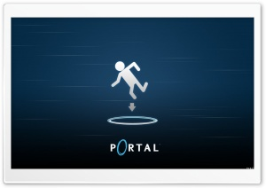 Portal HD Wide Wallpaper for Widescreen