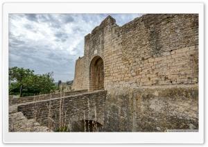 Portal de la Verge Peratallada, Catalonia Ultra HD Wallpaper for 4K UHD Widescreen desktop, tablet & smartphone