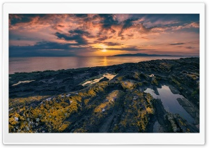 Portencross, Scotland HD Wide Wallpaper for Widescreen
