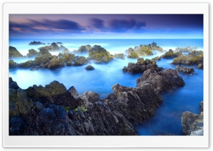 Porto Moniz HD Wide Wallpaper for Widescreen