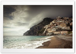 Positano Coast, Italy HD Wide Wallpaper for Widescreen
