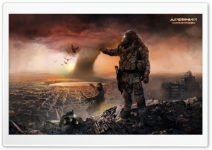 Post Apocalyptic HD Wide Wallpaper for Widescreen