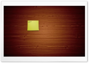 Post It Note HD Wide Wallpaper for Widescreen
