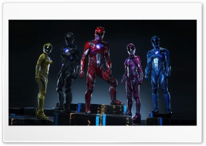 Power Rangers 2017 HD Wide Wallpaper for Widescreen