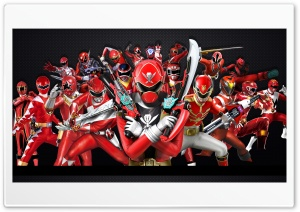 Power Rangers Forever Red HD Wide Wallpaper for Widescreen