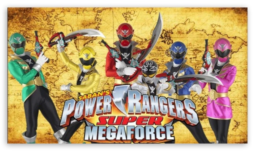 Download Power Rangers Super Megaforce By Butters101 HD Wallpaper