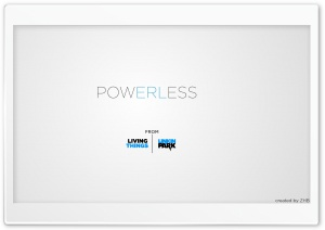 Powerless by Linkin Park HD Wide Wallpaper for Widescreen