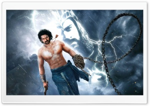 Prabhas Baahubali 2 The Conclusion HD Wide Wallpaper for Widescreen