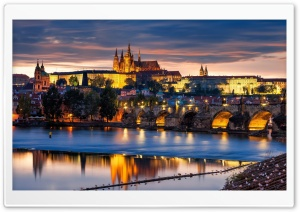 Prague Castle Ultra HD Wallpaper for 4K UHD Widescreen desktop, tablet & smartphone