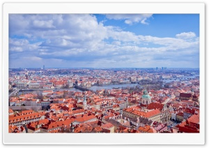 Prague Super City View HD Wide Wallpaper for 4K UHD Widescreen desktop & smartphone