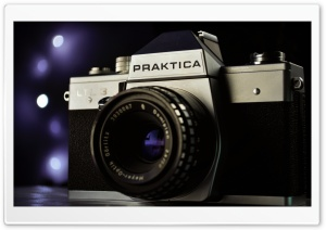 Praktica film camera HD Wide Wallpaper for Widescreen