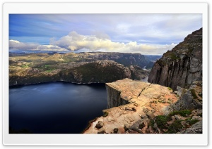 Preikestolen HD Wide Wallpaper for Widescreen