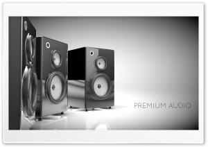 Premium Audio Ultra HD Wallpaper for 4K UHD Widescreen desktop, tablet & smartphone