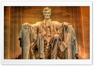 President Abraham Lincoln HDR Ultra HD Wallpaper for 4K UHD Widescreen desktop, tablet & smartphone
