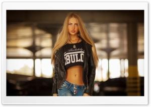 Pretty Blonde Girl Ultra HD Wallpaper for 4K UHD Widescreen desktop, tablet & smartphone