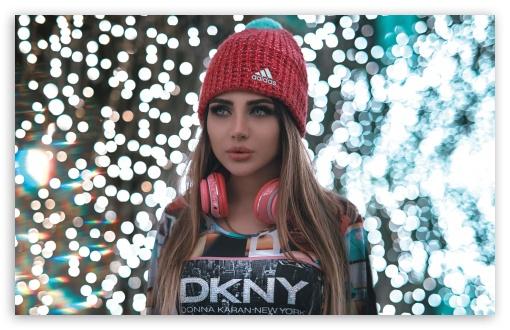 pretty girl headphones music wallpapers