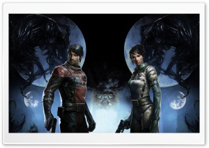 Prey Game 2017 Protagonist HD Wide Wallpaper for Widescreen