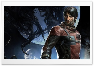 Prey game Morgan Yu Male HD Wide Wallpaper for 4K UHD Widescreen desktop & smartphone