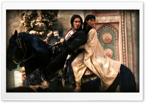 Prince Dastan And Princess Tamina HD Wide Wallpaper for Widescreen