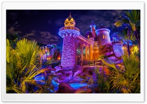 Prince Erics Castle HD Wide Wallpaper for Widescreen