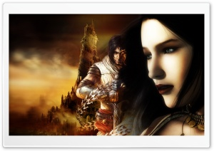 Prince Of Persia Game HD Wide Wallpaper for Widescreen