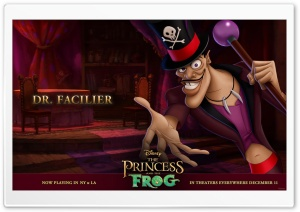 Princess And The Frog Dr. Facilier HD Wide Wallpaper for Widescreen