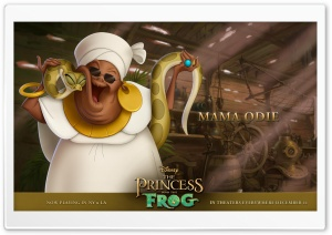 Princess And The Frog Mama Odie HD Wide Wallpaper for Widescreen