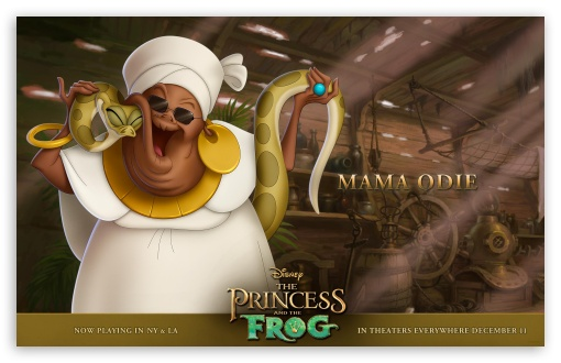 Princess And The Frog Mama Odie ❤ 4K UHD Wallpaper for Wide 16:10 5:3 Widescreen WHXGA WQXGA WUXGA WXGA WGA ; Standard 3:2 Fullscreen DVGA HVGA HQVGA ( Apple PowerBook G4 iPhone 4 3G 3GS iPod Touch ) ; Mobile 5:3 3:2 - WGA DVGA HVGA HQVGA ( Apple PowerBook G4 iPhone 4 3G 3GS iPod Touch ) ;