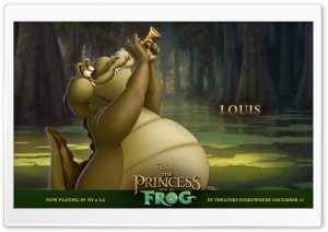 Princess And The Frog Movie Louis HD Wide Wallpaper for Widescreen