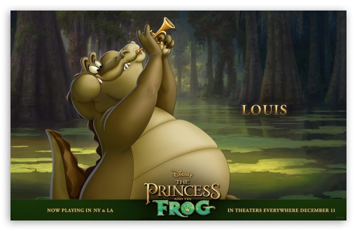 Princess And The Frog Movie Louis ❤ 4K UHD Wallpaper for Wide 16:10 5:3 Widescreen WHXGA WQXGA WUXGA WXGA WGA ; Standard 3:2 Fullscreen DVGA HVGA HQVGA ( Apple PowerBook G4 iPhone 4 3G 3GS iPod Touch ) ; Mobile 5:3 3:2 - WGA DVGA HVGA HQVGA ( Apple PowerBook G4 iPhone 4 3G 3GS iPod Touch ) ;