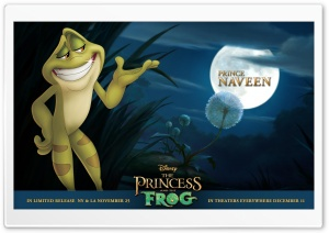 Princess And The Frog Movie Prince Naveen HD Wide Wallpaper for Widescreen