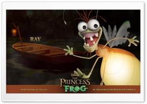 Princess And The Frog Ray HD Wide Wallpaper for Widescreen