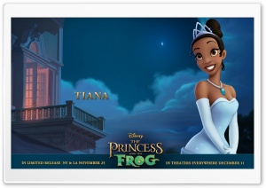 Princess And The Frog Tiana HD Wide Wallpaper for Widescreen