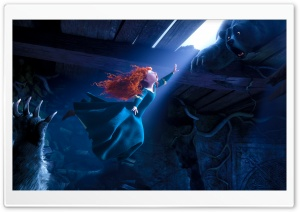 Princess Merida Brave 2012 HD Wide Wallpaper for Widescreen