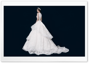 Princess Wedding Dress Ultra HD Wallpaper for 4K UHD Widescreen desktop, tablet & smartphone