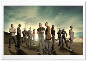 Prison Break Cast HD Wide Wallpaper for Widescreen