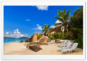 Private Beach HD Wide Wallpaper for Widescreen
