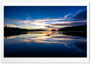 Private Dock Sunset HD Wide Wallpaper for Widescreen