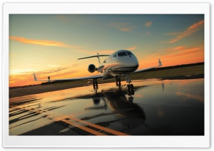 Private Plane HD Wide Wallpaper for Widescreen