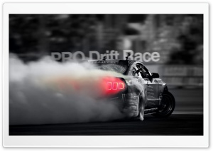PRO Drift Race HD Wide Wallpaper for Widescreen