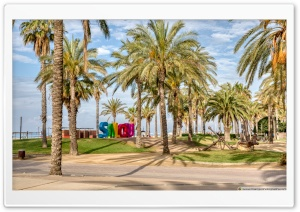 Promenade Jaume I Salou, Catalonia - II Ultra HD Wallpaper for 4K UHD Widescreen desktop, tablet & smartphone