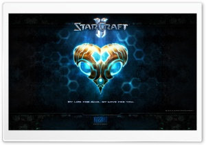 Protoss Valentine HD Wide Wallpaper for Widescreen