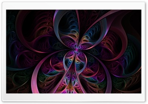 Psychedelic Butterfly HD Wide Wallpaper for Widescreen